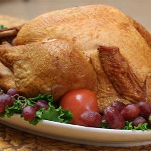 Hardwood Smoked Whole Turkey