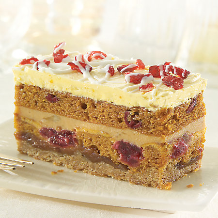 Pumpkin Cranberry Stack