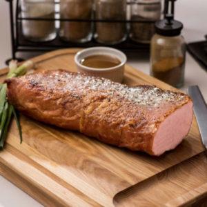 Boneless Glazed Pork Loin Family Dinner